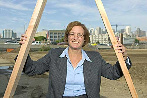 Carol Galante led affordable development firm Bridge Housing before President Barack Obama tapped her to serve in the U.S. Department of Housing and Urban Development.