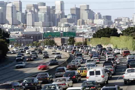 Traffic congestion is the West is the worst in San Francisco-Oakland, while Los  Angeles is a close runner-up.
