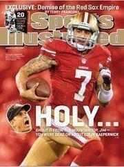 San Francisco 49ers quarterback Colin Kaepernick had the fourth highest-selling jersey on NFLShop.com last year.