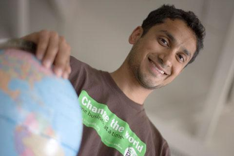 Premal Shah, who helped to start Kiva, is its president.