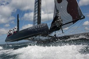 AC45 sea trials America's Cup 34 New Zealand San Francisco