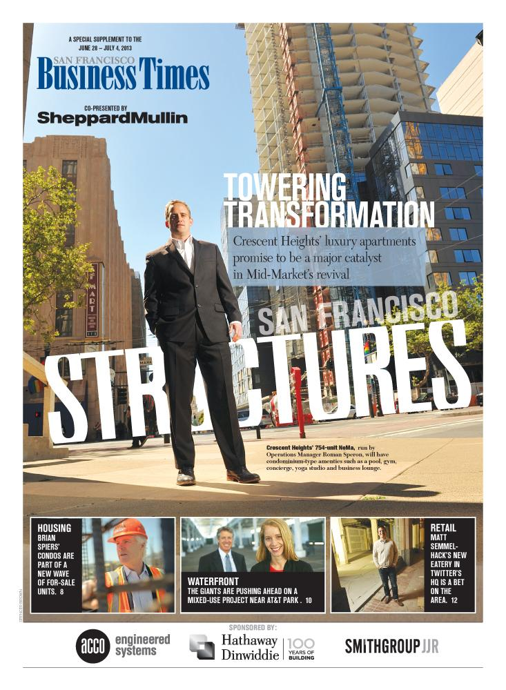 SF Structures cover, June 2013.