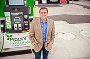 """No. 14 Propel Fuels Matt Horton, CEO  Leadership style: """"I hire really smart people with a passion for our business, and keep everyone focused on our mission of fueling change."""""""