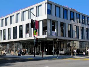 SFJAZZ Center on the corner of Franklin and Fell Streets in Hayes Valley has spurred conversation among other business owners in the neighborhood.
