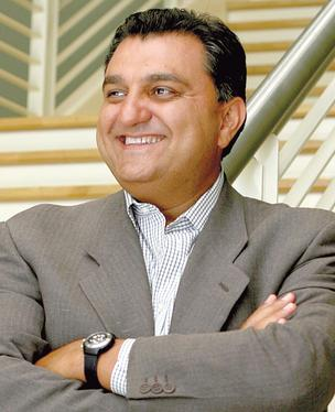 Bobby Yazdani, founder of Saba Software Inc., has stepped down as CEO, chairman and director.
