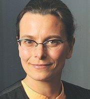 Olivia Krampe Vice president, site head supply center, Emeryville, Bayer HealthCare Pharmaceuticals.