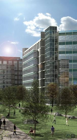 The leasing success of Jay Paul Co.'s Moffett Towers project in Sunnyvale is a powerful calling card, making the new proposal for the Medtronic campus one to watch.