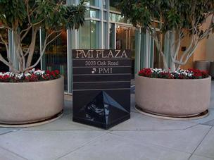 PMI's headquarters in 2010, across the street from the Pleasant Hill BART station.