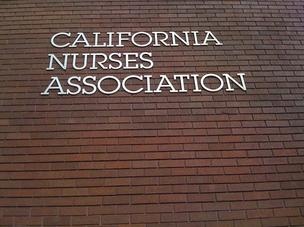 The California Nurses Association is based in downtown Oakland.