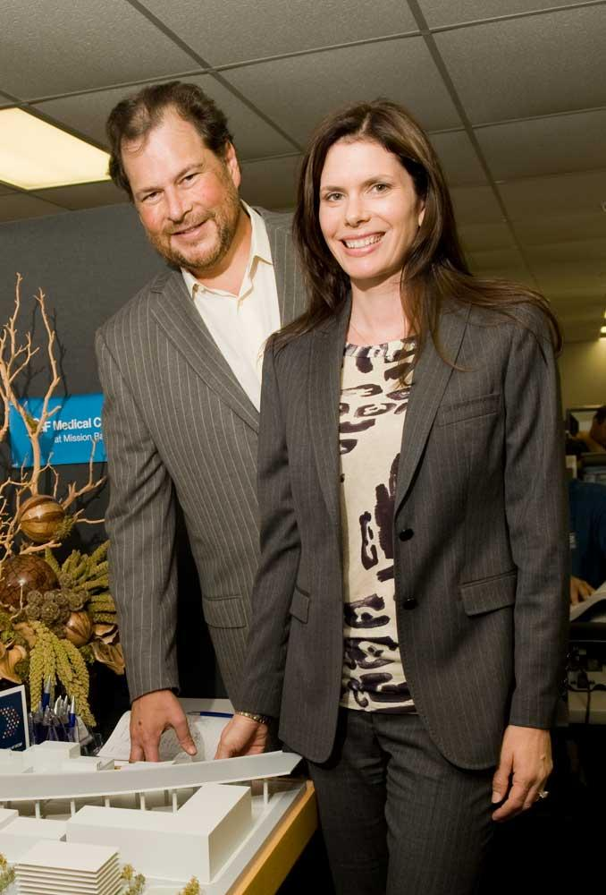 Marc and Lynne Benioff are donating $500,000 to charities supporting the homeless.