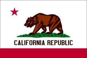 California flag Jerry Brown Hosts Breakfast speech