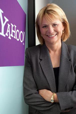 Carol Bartz was CEO of Yahoo in Sunnyvale from January 2009 until September, when she was fired.