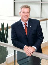 Greg Babe, president and CEO of Bayer Corp.
