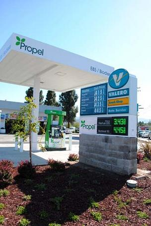 Propel Fuels opened a station in Redwood City on Tuesday.