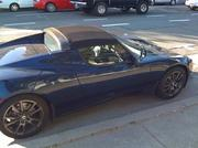 Tesla's Roadster sportscars are common sights in the Bay Area. Here's one in Downtown Oakland.