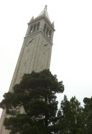UC Berkeley campanile clock tower