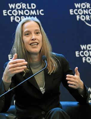 Wendy Kopp, seen here at the World Economic Forum in 2012, proposed the idea of Teach for America in her senior thesis at Princeton University.