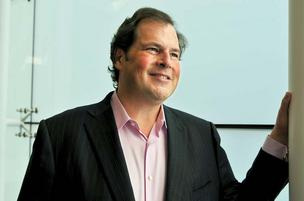Salesforce boss Marc Benioff.