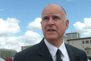 California Governor Jerry Brown is visiting Silicon Valley on Friday to meet with business leaders.