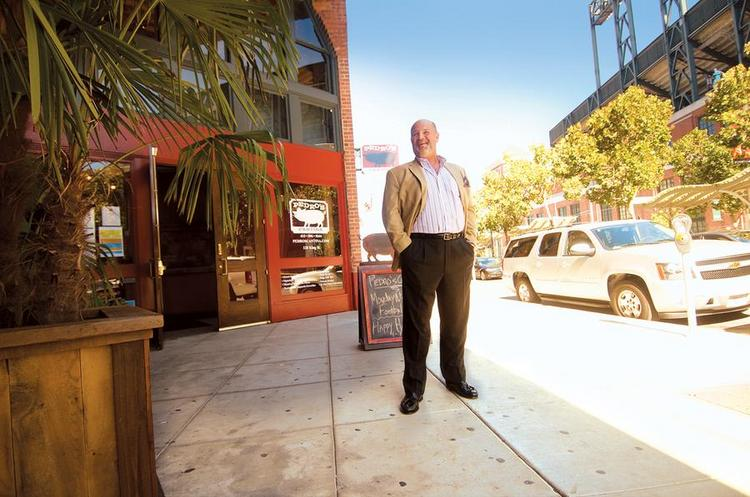 Peter Osborne is opening his newest restaurant, Mission Rock Resort, in Mission Bay.