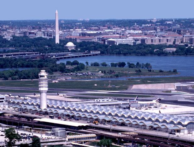 Reagan National Airport and the Washington, D.C., market may be a sticking point in US Airways' $11 billion merger with American Airlines.