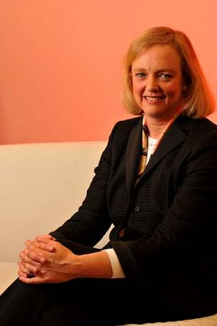 Hewlett-Packard Co. CEO Meg Whitman.