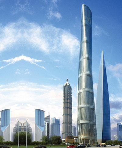 Gensler's Shanghai Tower will be the second-tallest tower in the world when it's completed in 2014.