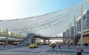 Heller Manus's East Railway Station is part of its master plan for Guangzhou.