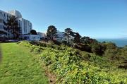 The VA Medical Center sits on the edge of picturesque Land's End in San Francisco.