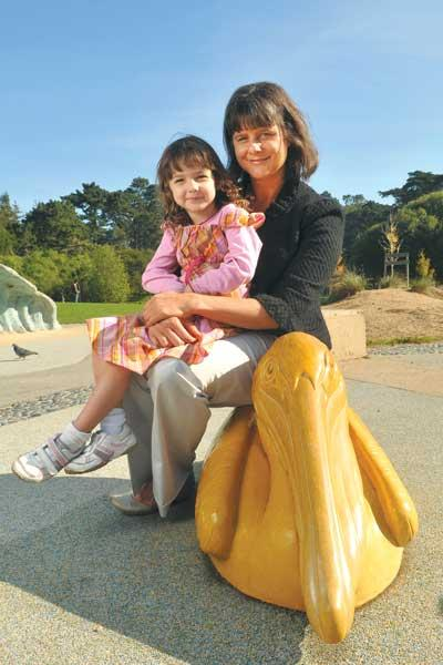 Mama, data: Jill Seman (with daughter Mary) created the Mom Maps iPhone app.