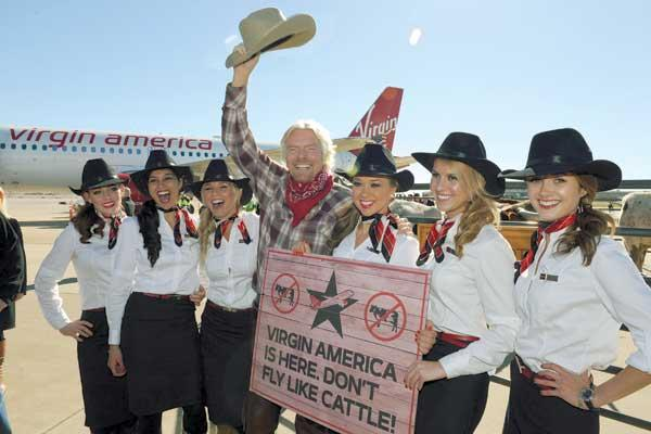 Sir Richard Branson says quality of service pays off in the long run.