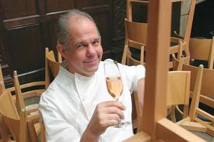 Restaurateur Gary Danko has been on AAA's top rated list for many years.