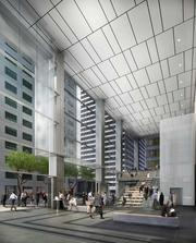 Current SOM projects under way or in planning in San Francisco include 350 Mission St.