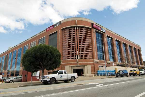Zynga negotiated for its own private entrance at 699 Eighth St.