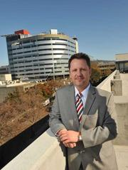 The $350 million inpatient tower is on schedule and budget, says Alta Bates Summit's CFO Aaron Adams.