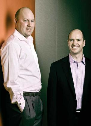 Marc Andreessen and Ben Horowitz.
