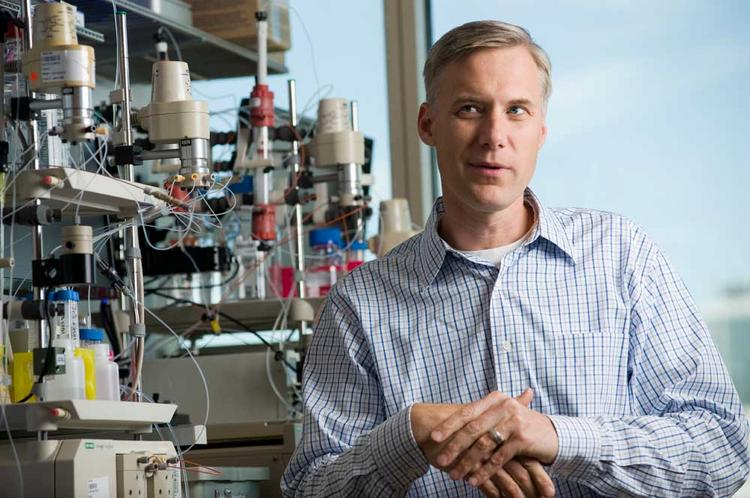 Robert Blazej's Allopartis Biotechnologies engineers enzymes for biochemical uses.