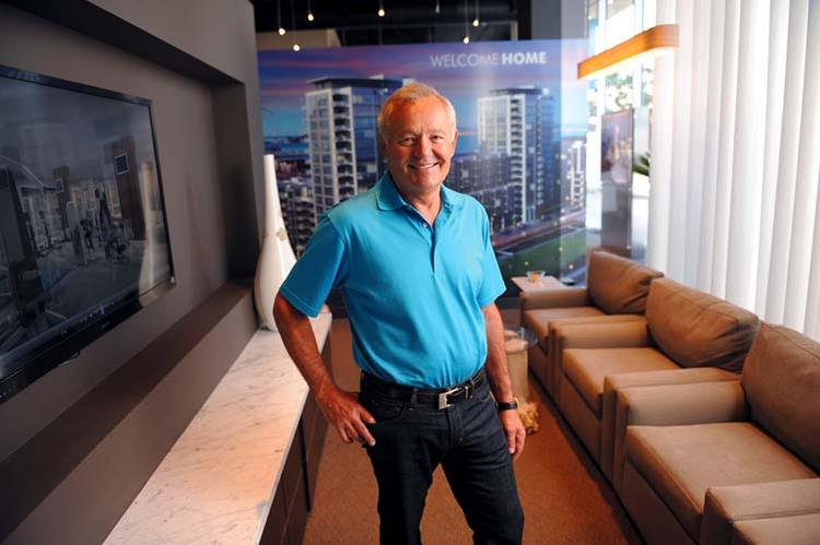 Nat Bosa has made aggressive bets on for-sale housing in Mission Bay.
