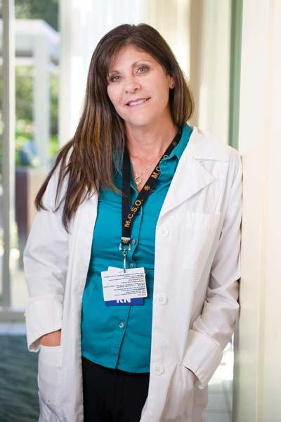 """Passion and compassion"" guide Mary Jane Martin Boyd as she manages emergency, trauma and transportation departments at Marin General Hospital."