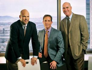 Cresa's Bay Area leaders are managing principals Matt Elmquist (left), Craig Zodikoff (center) and Scott Stone.