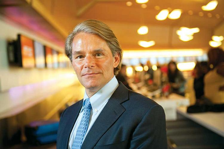 Virgin America CEO David Cush (pictured) has hired the company's first ever COO, Steve Forte.