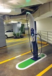 Green upgrades include free chargers for electric vehicles, extra bike parking and water-saving fixtures.