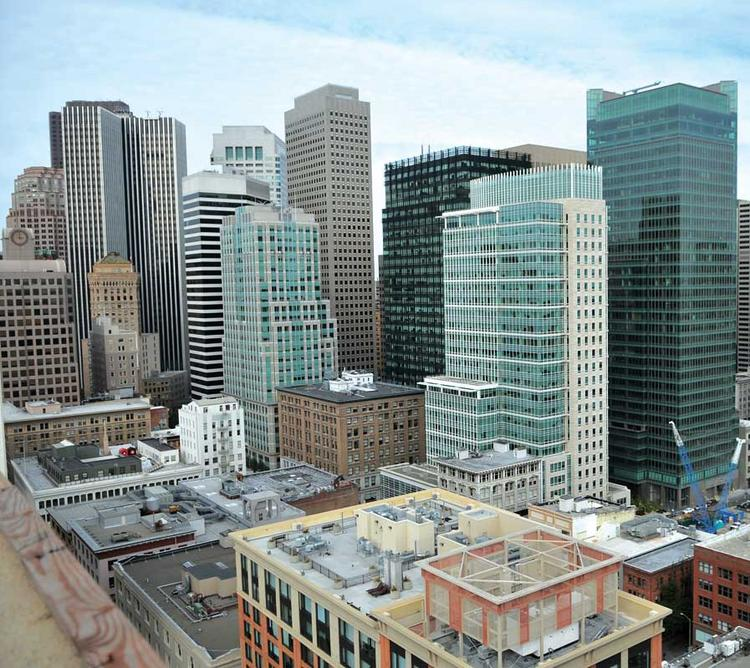 Commercial rents in San Francisco have risen 22 percent as tenants grabbed 1.7 million square feet in 2011.