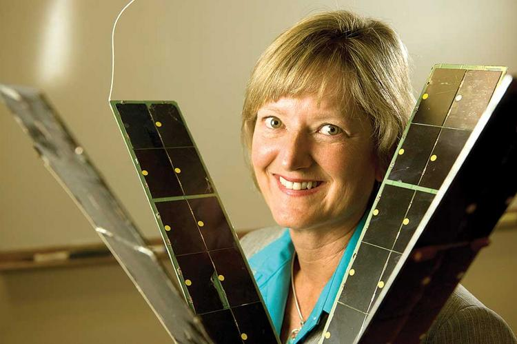 The commercial space industry is abuzz with innovation, says Stellar Solutions CEO Celeste Ford.