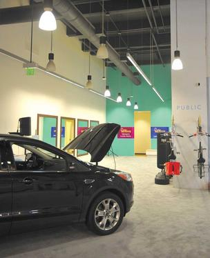 Ford has opened pop-up stores in San Francisco, where the company showcases its new technology in cars, as well as offers yoga classes.