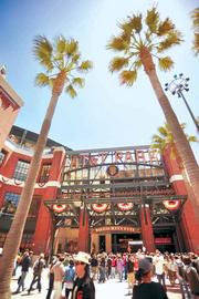 The San Francisco Giants topped the rankings with average attendance of 41,818.