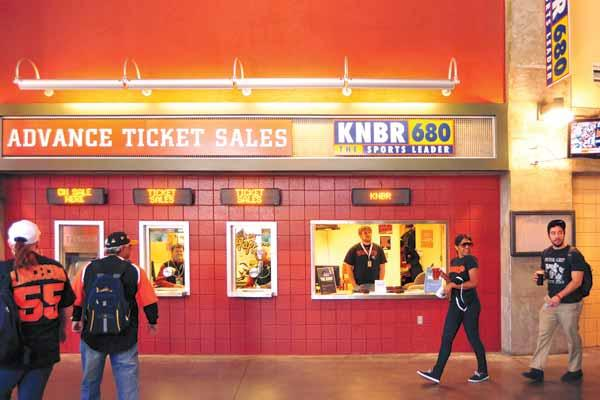Big at the box office: The Giants stand to break its ticket-sales record set in 2003, and ticket revenue is up more than 15 percent.