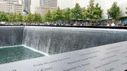 The design for the Sept. 11 memorial includes a waterfall in a tower footprint.