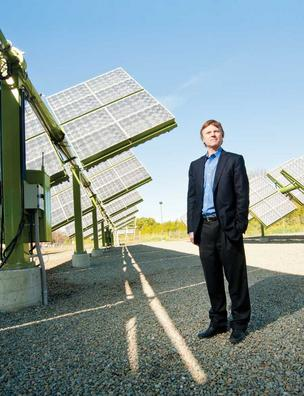 cleantech solar greenvolts david gudmundson ABB Fremont Solyndra