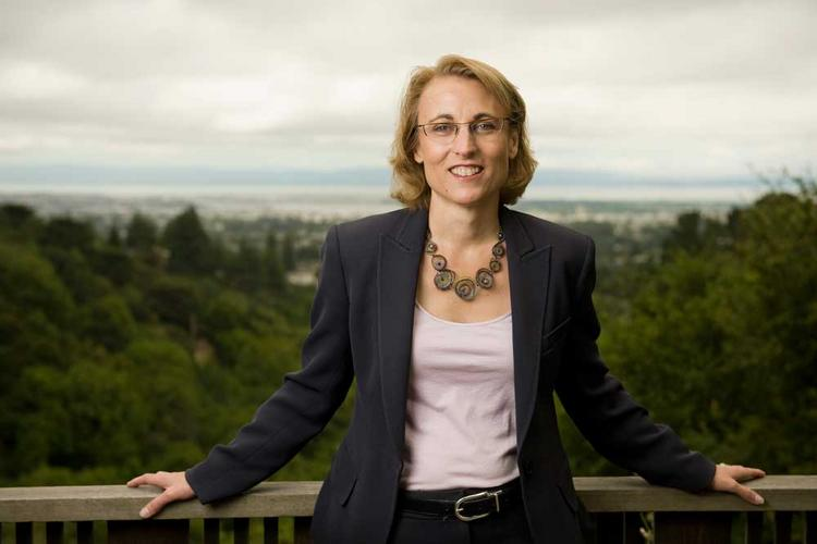 """""""BlackRock is passionate about breaking the cycle of poverty,"""" says Kara Helander."""